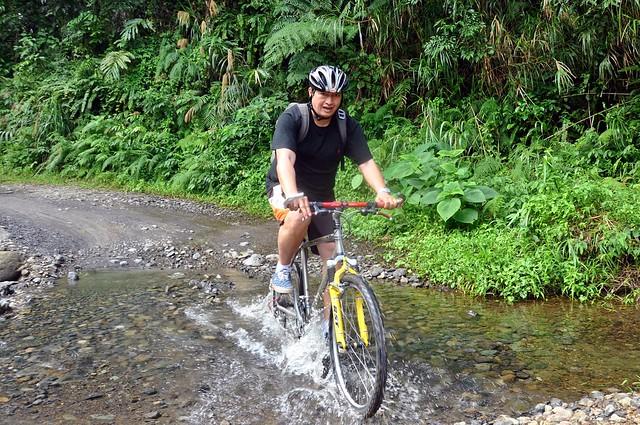Biker on the Road