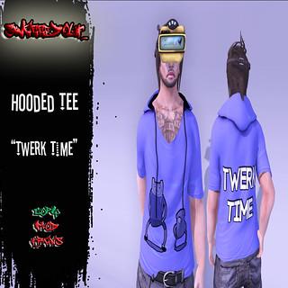 SwaggedOut - Twerk Time Hooded Tee