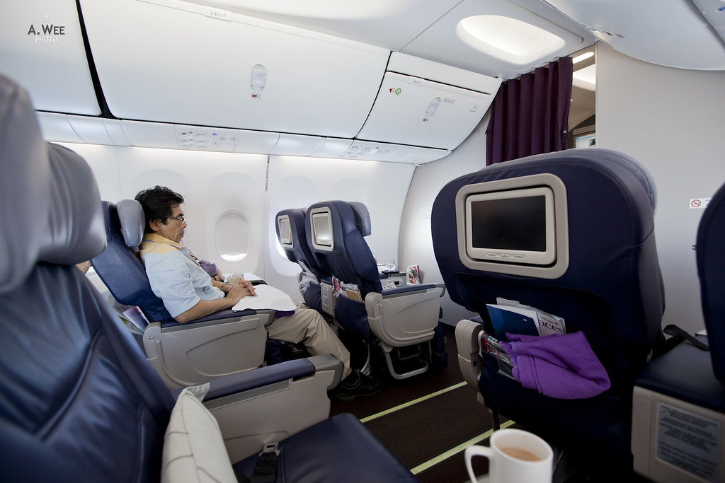 Onboard Malaysia Airlines