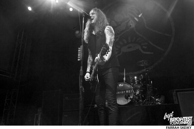 Against Me Laura Jane Grace Ram\'s Head Live Farrah Skeiky Brightest Young Things 1