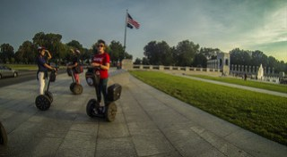 Segway Tour at WWII Memorial