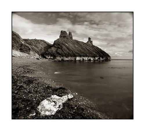Wicklow Black Castle by Monosnaps