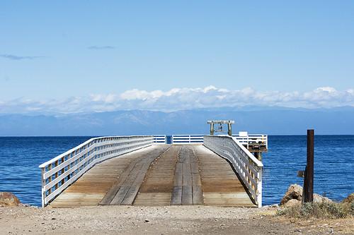 Santa Cruz Island: The Dock to Nowhere
