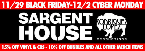 Sargent House Black Friday Sale