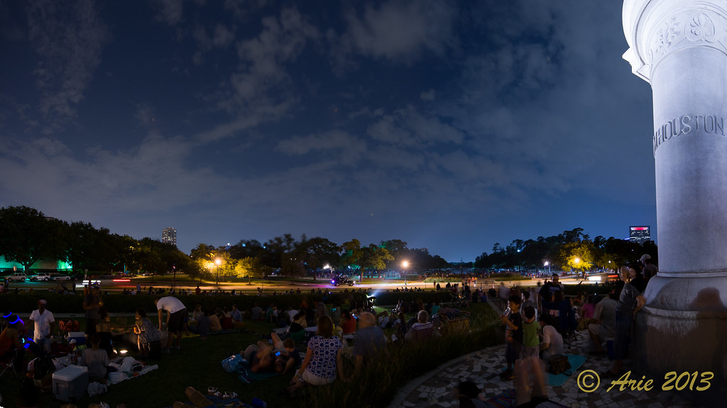 4th of July Celebration at Hermann Park