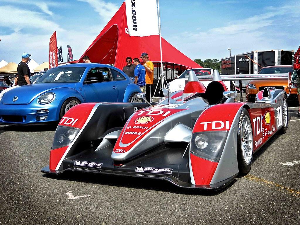 Audi R10 TDI Le Mans Race Car