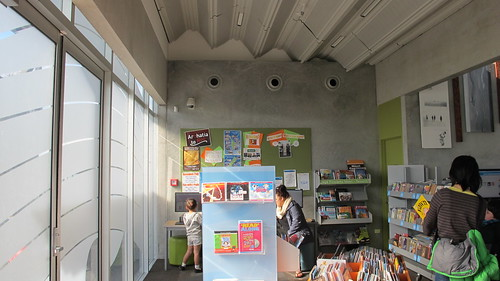 Children's area, Aranui Library