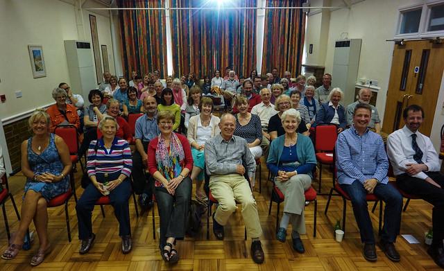 Janapar audience in Winchcombe