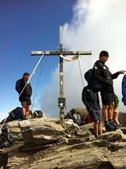 Gipfelkreuz Wilde Kreuzspitze 3.132m
