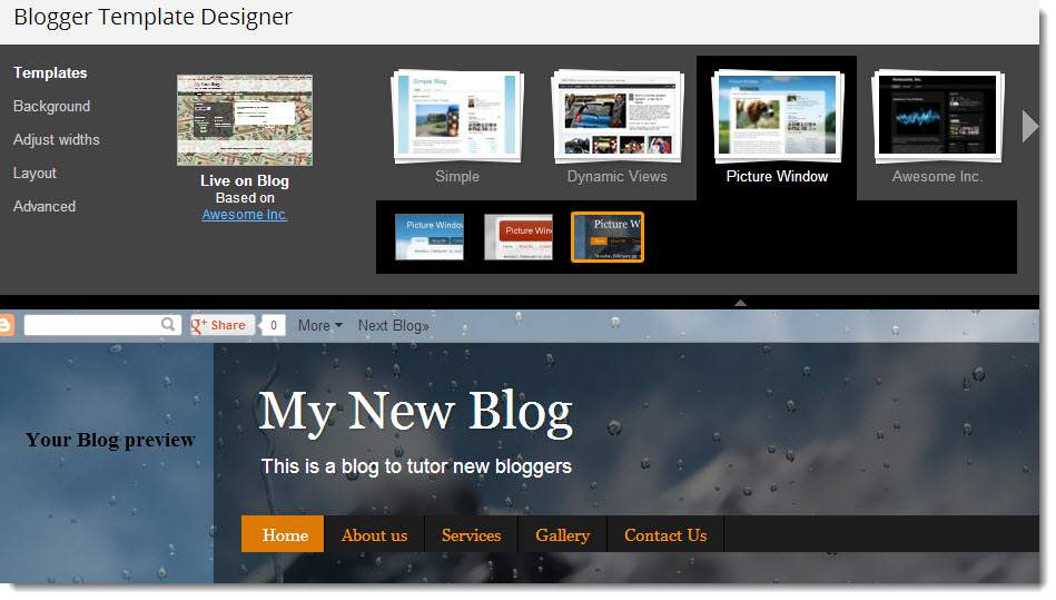Beginners guide to blogging with blogger