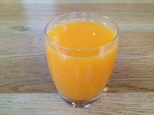 Orange juice - Grange Restaurant