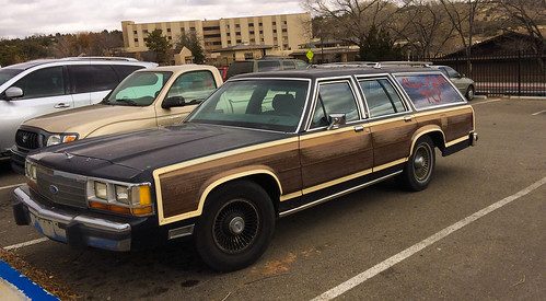 Station Wagon with Fake Wood by dagnyg