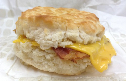 Jack in the Box Southern Style Biscuits Bacon, Egg & Cheese
