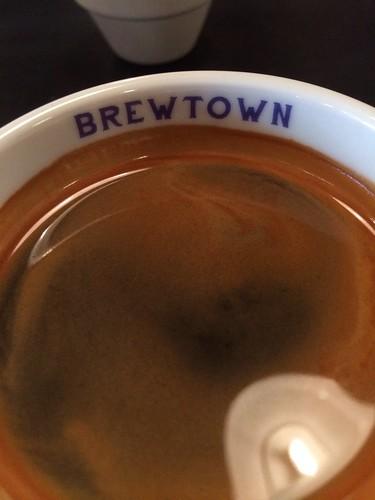 Brewtown Newtown - coffee cup