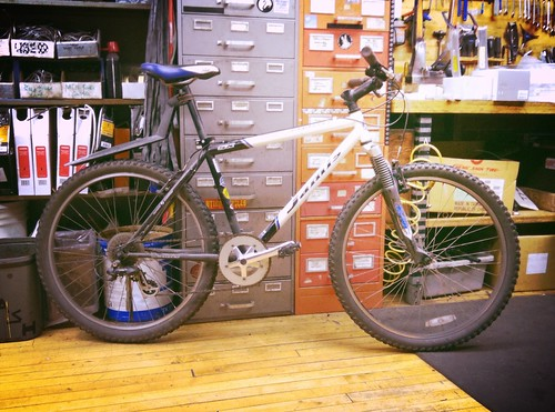 John's Jamis Mountain Bike