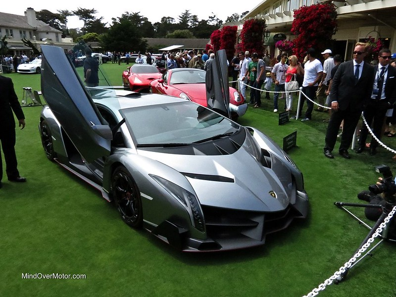 Lamborghini Veneno at Pebble Beach