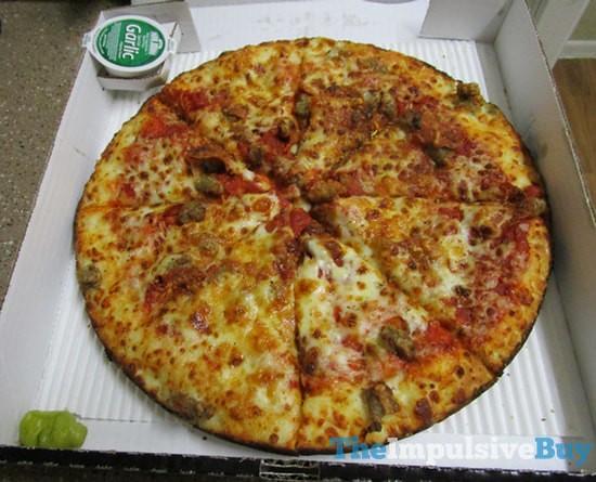 Review Papa John S Pan Pizza The Impulsive Buy