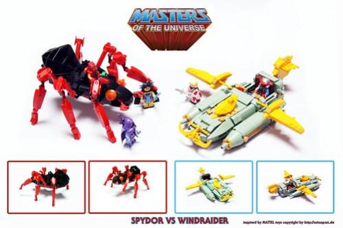 Spydor vs Windraider