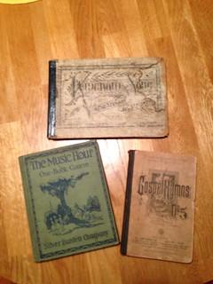 Music books from Daedelus Books, Charlottesville, Va