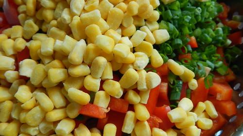 Three Bean Mexi Salad