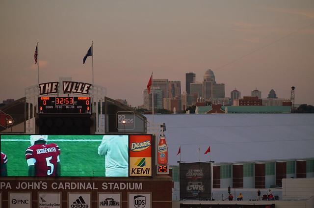 Rutgers vs. Louisville - October, 2013