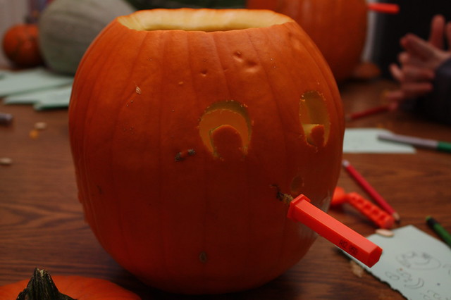 These tiny saws have really made pumpkin carving so much easier than when we were kids, haven't they?