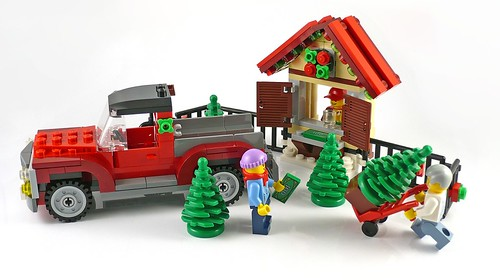 40083 Christmas Tree Truck 14
