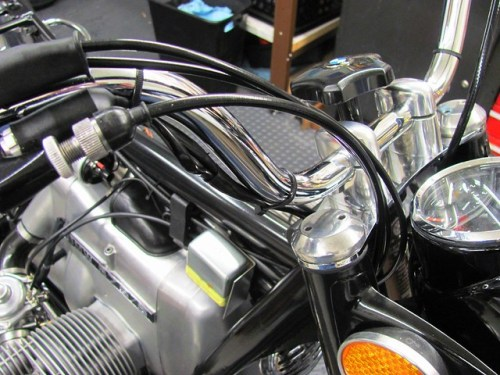 Throttle Cable Routing