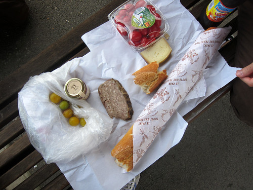 Train Station Picnic