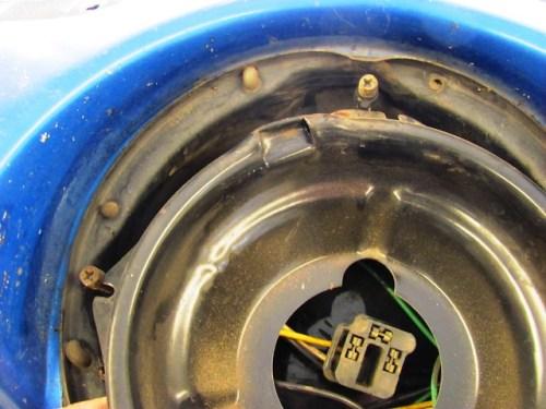 Inner Adjuster Bracket & Headlight Frame