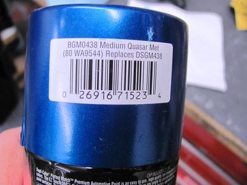 GM Quasar Blue Metallic