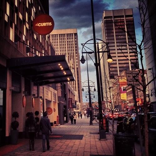 Curtis Street #denver by @MySoDotCom