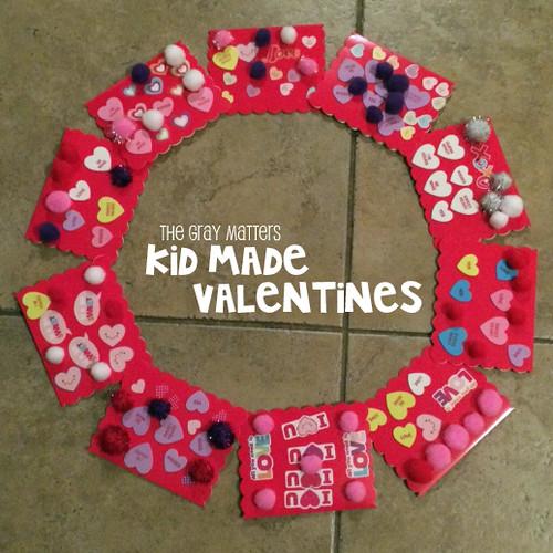 Kid-Made Valentines