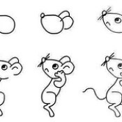 Fare nasil çizilir.  How mouse can draw