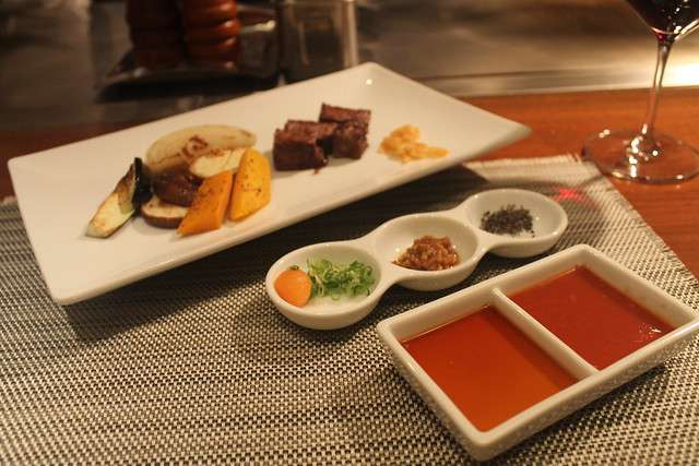 Comida japonesa: carne de Kobe