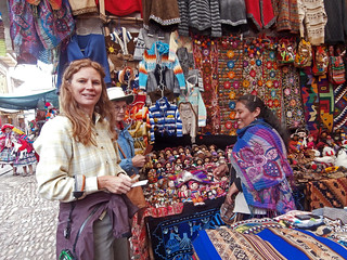 Shopping at the Pisac Market in the Sacred Valley