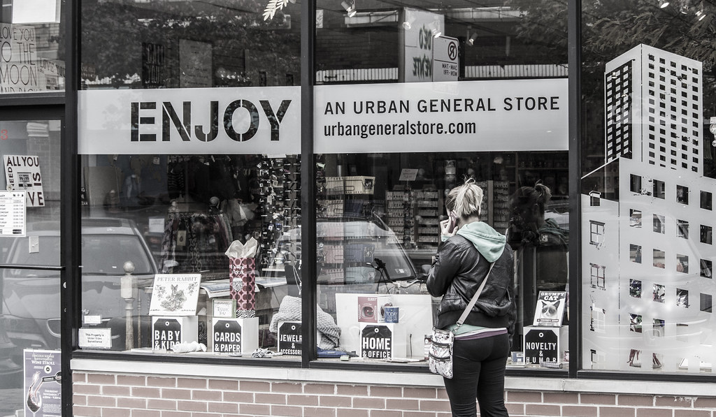 E is for ENJOY, Urban General Store