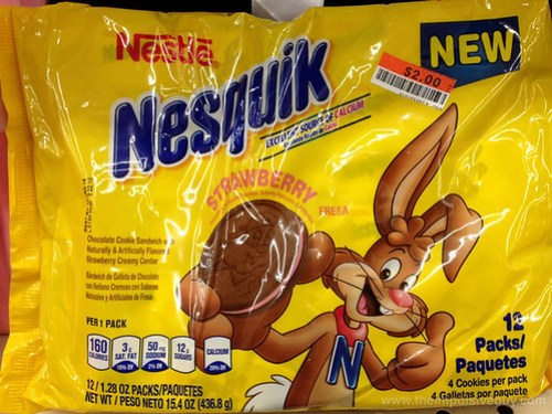 Nestle Nesquik Strawberry Cookies