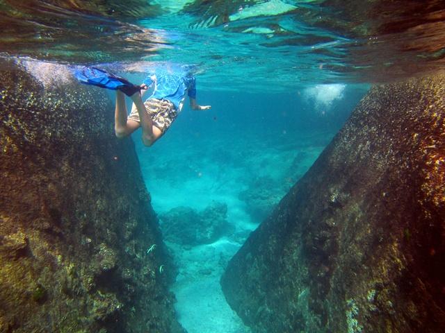 boulder swimming