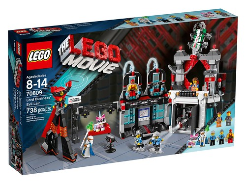 70809 Lord Business' Evil Lair BOX