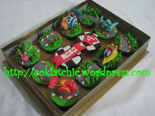 Cupcake set turbo snail