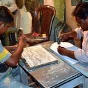 India - Telangana - Hyderabad - Marble Engraving - 3.