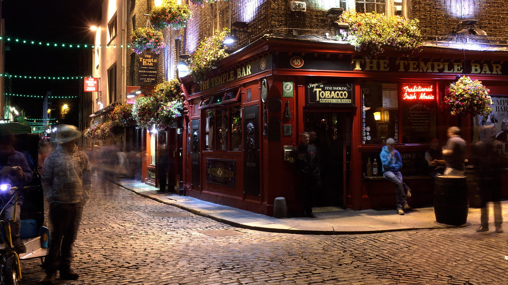 The Temple Bar, where to stay in dublin