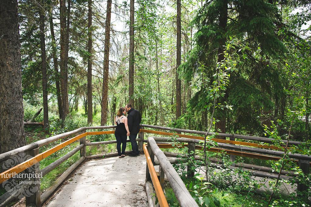 Engagement Session at Pyramid Lake, Jasper