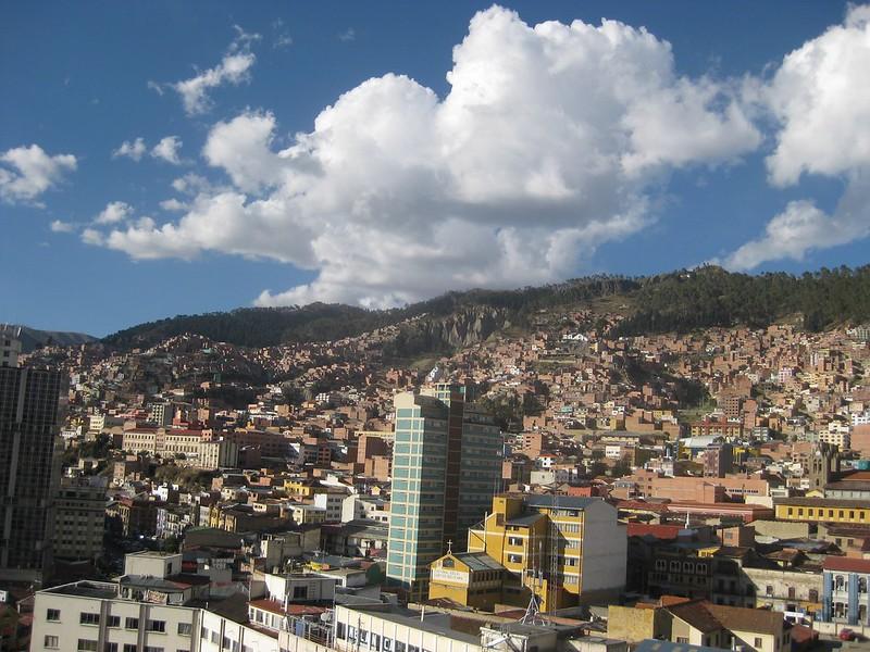 El Alto Above La Paz