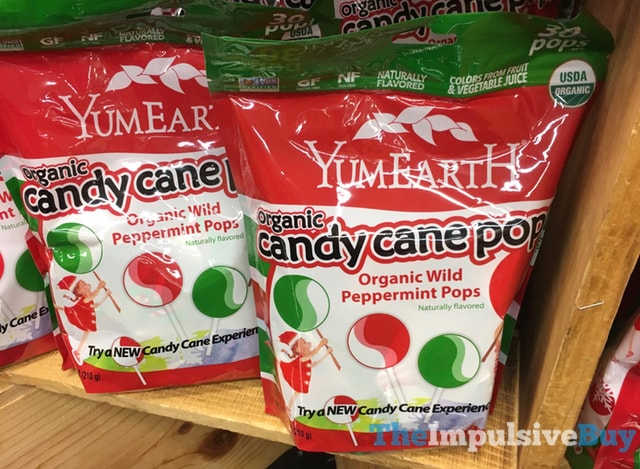 YumEarth Organic Wild Peppermint Pops