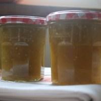 confiture aux tomates vertes - green tomato jam