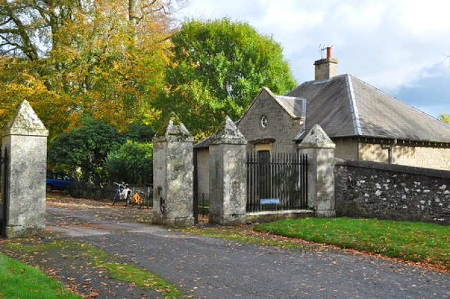 Mellerstain House cottage review - West Lodge