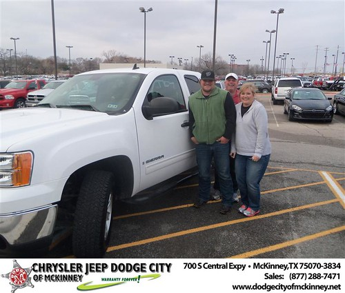 Happy Anniversary to Jeffery T Nichols on your 2009 #Gmc #Sier15 from David Campos  and everyone at Dodge City of McKinney! #Anniversary by Dodge City McKinney Texas