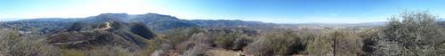 Panorama Calabasas Peak